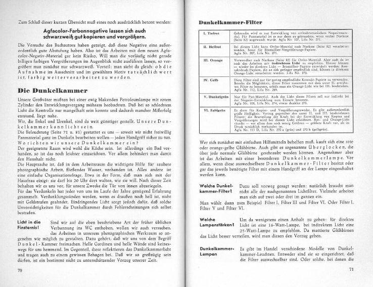 verschiedene Ausführungen Register